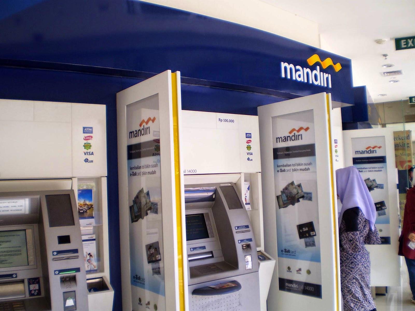 Catat lokasi kartu ATM tertelan di mesin ATM