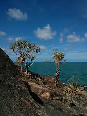 Cruise ships are a common coastal site