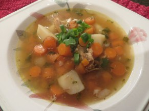 Chunky Chicken Soup. Just add salad ...