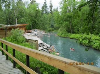 Liard Hot Springs, B.C.
