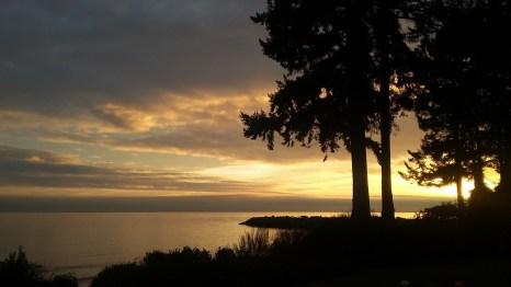Sunset BC West Coast - Beautiful BC