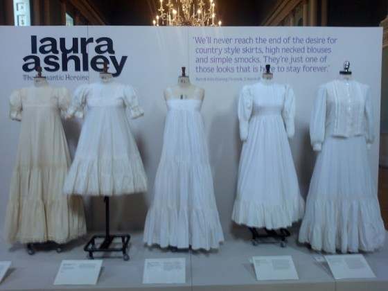 Laura Ashley Exhibit