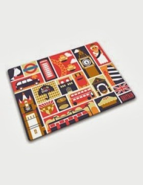 london chopping board