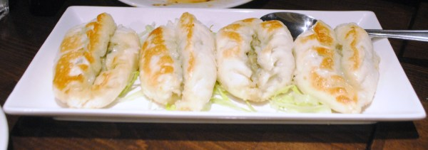 Pan Fried Pork and Vegetable Steamed Bao