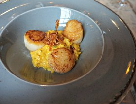 Scallops 'n' Bacon