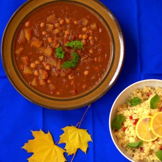 Moroccan Chickpea and Squash Stew – Ottolenghi Inspired Mediterranean Stew