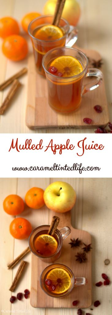 Mulled Apple Juice Non-Alcoholic Holiday Drink
