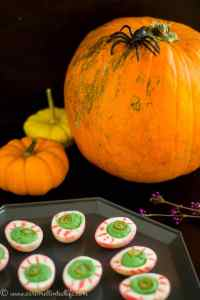 Halloween Delived Eggs on a tray