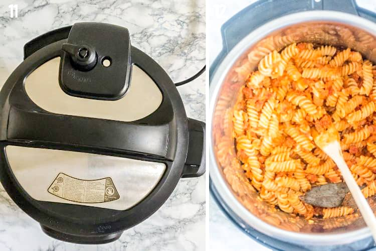 Step By Step Instant Pot Sausage Pasta