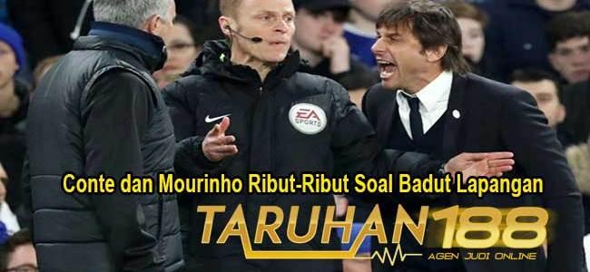 Conte dan Mourinho Ribut-Ribut Soal Badut Lapangan