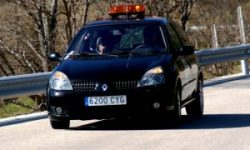 Coche seguridad - CAR and GAS - RallySprint Canencia 2013