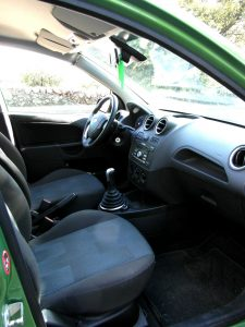 Ford Fiesta - car and gas - Interior
