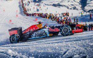 Red Bull en la nieve