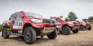 Toyota Hilux Dakar 2017