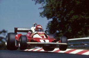 Nurburgring Niki Lauda, Ferrari 312T2