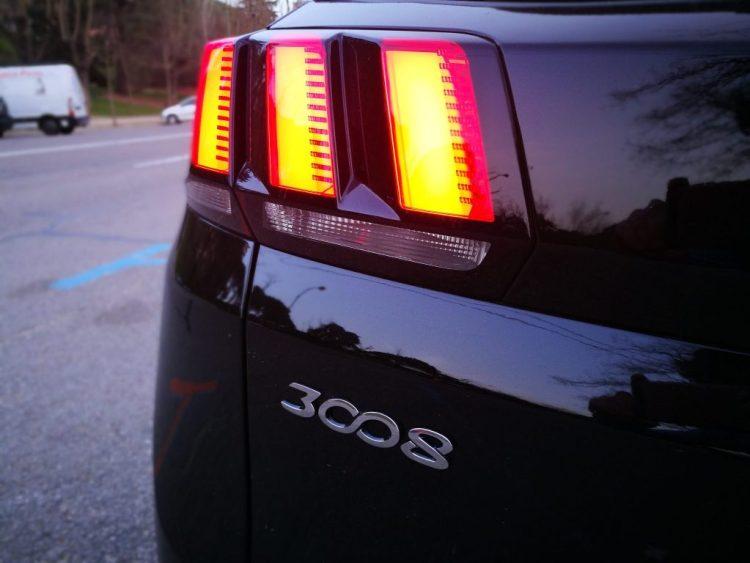 Faros traseros Peugeot 3008