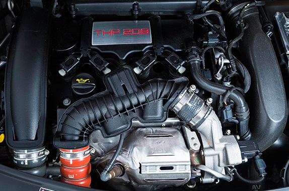 Peugeot 208 GTI mecanica
