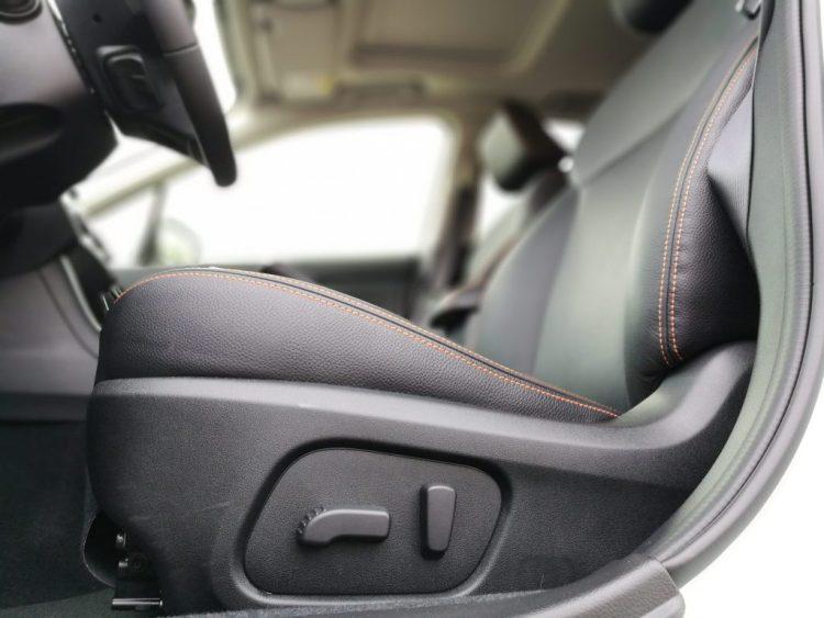 Subaru XV Boxer Diesel reglaje asientos