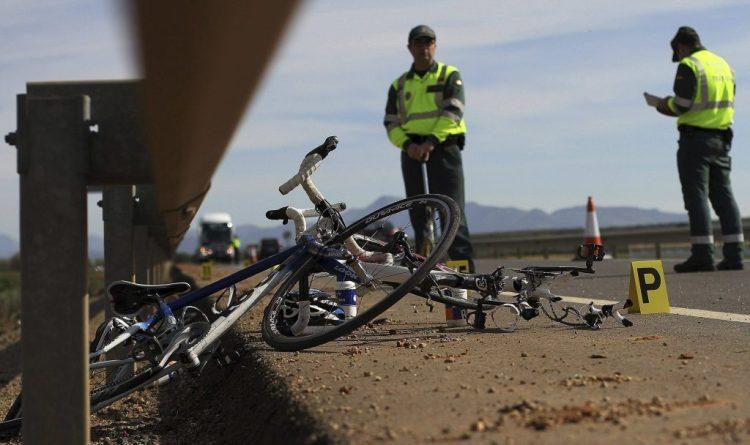 Atropello ciclistas - Imagen: Periódico El mundo