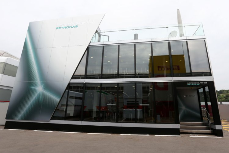 Team Mercedes MotorHome