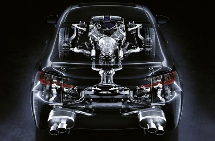 Diferencial Activo Lexus RC F