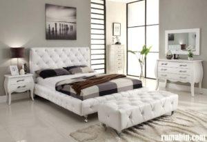 Aplikasi Warna Cat Kamar Tidur Minimalis dengan Nuansa Warna Putih