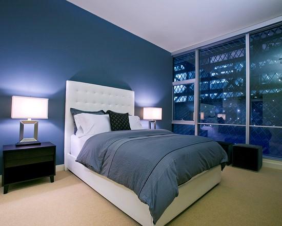 Desain Kamar Tidur Minimalis Warna Biru Penuh Kreasi dan Inspirasi #1