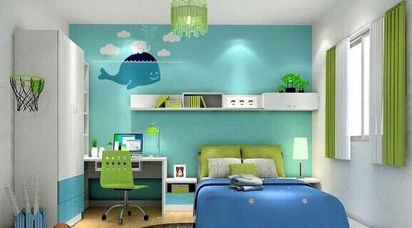 Desain Kamar Tidur Minimalis Warna Biru Penuh Kreasi dan Inspirasi #2