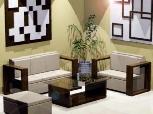Desain Kursi dan Sofa Ruang Tamu Minimalis Modern ...