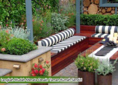 Langkah Mudah Menata Desain Taman Rumah Sendiri