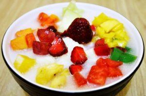 resep buka puasa sop buah segar