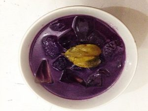 resep membuat setup ubi ungu segar nikmat