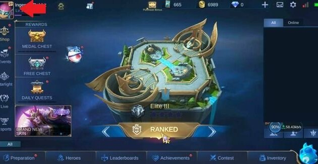 Cara Unbind akun Mobile Legend
