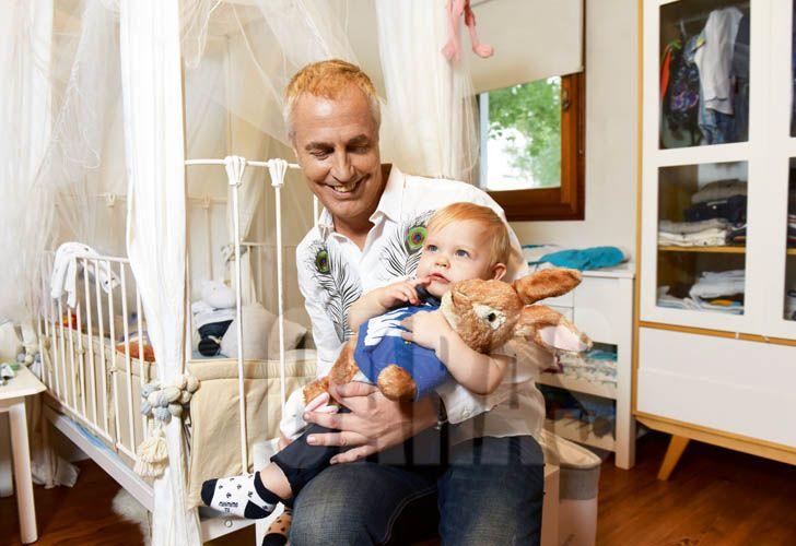 ¡Igual a Papá! Marley mostró una foto de su infancia y sorprendió el parecido con Mirko