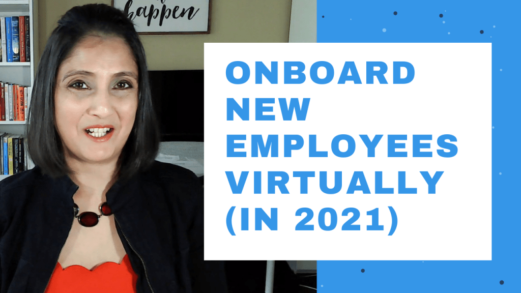 Onboard new employees virtually