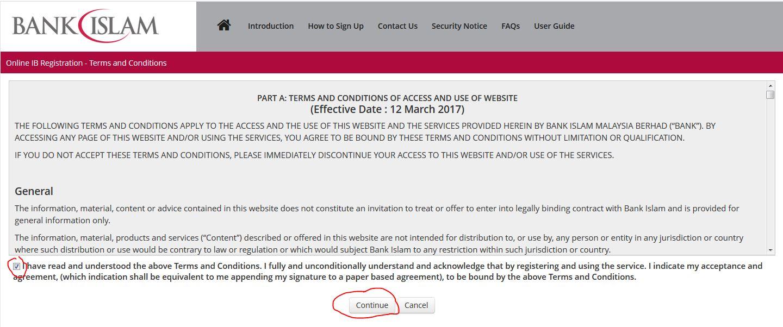 Cara Daftar Bank Islam Online Terbaru 5 Minit Berjaya