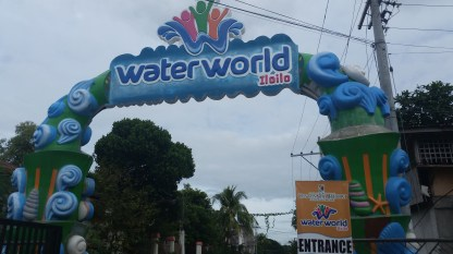 The entrance of Waterworld