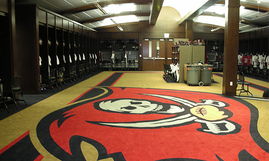Buccaneers Training Room  Carastro  Associates Inc