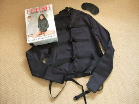 Fetish Fantasy Unisex Strait Jacket Review by Cara Sutra 1