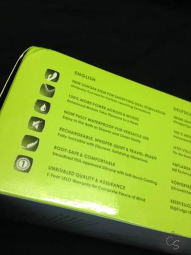 LELO Ina 2 rabbit vibrator review