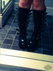 demonia slush 249 knee boots photo