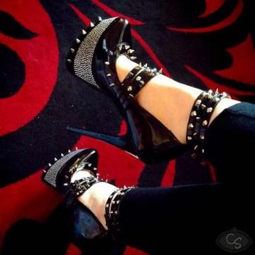 spiky shiny shoes-2