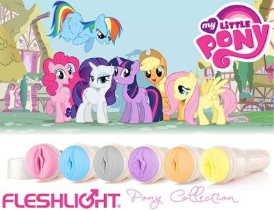 My LIttle Pony Fleshlight & Sex Toys