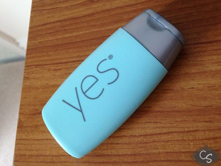 Yes Water Based Lubricant Bottle
