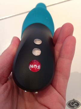The power buttons & magnetic charging nodules