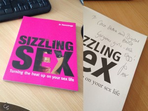 Sizzling Sex by Jo Hemmings review