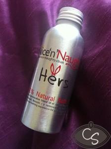 nice n naughty own brand bath oil review