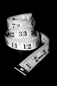 Tape measure - weight loss blog
