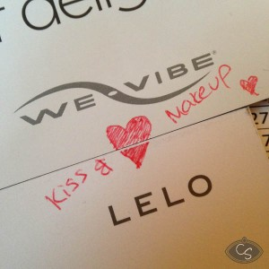 lelo and we-vibe kiss and make up