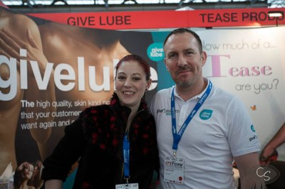 give lube at erofame 2013